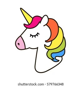 Sweet Wallpaper With Quotes Unicorn Icon Images Stock Photos Amp Vectors Shutterstock
