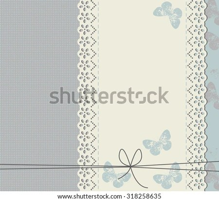 Unique Background Stylish Frame Can Be Stock Vector (Royalty Free