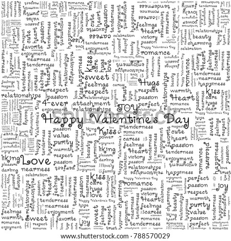 Valentines Day Love Background Greeting Card Stock Vector (Royalty - valentines card templates word