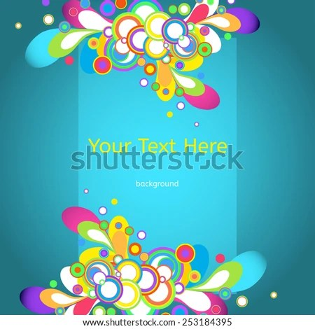 Vector Abstract Background Business Documents Website Stock Vector