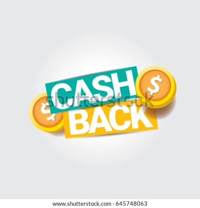 Vector Cash Back Icon Isolated On Stock Vector (Royalty Free) 645748063 - Shutterstock