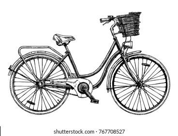 Bike Drawings Images Stock Photos Vectors Shutterstock
