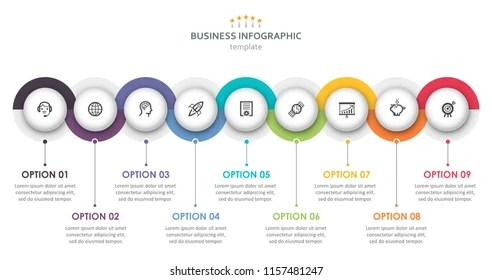 Infographic Template Images, Stock Photos  Vectors Shutterstock