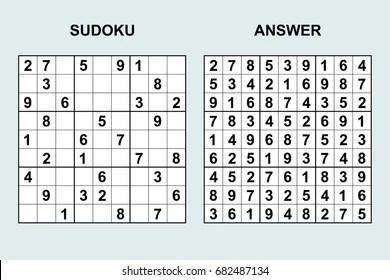 Sudoku Images Stock Photos Vectors Shutterstock