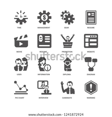Warning Website Promotion Pie Chart Diagram Stock Vector (Royalty