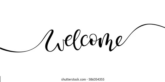 Welcome Letter Images, Stock Photos  Vectors Shutterstock