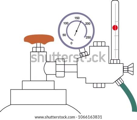 Welding Metal Inert Gas MIG Stock Vector (Royalty Free) 1066163831