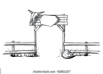 At Cowboy Fence Images Stock Photos Vectors Shutterstock
