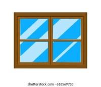 Cartoon Window Images, Stock Photos & Vectors | Shutterstock