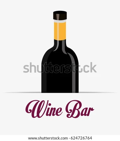 Wine Label Design Isolated Stock Vector (Royalty Free) 624726764
