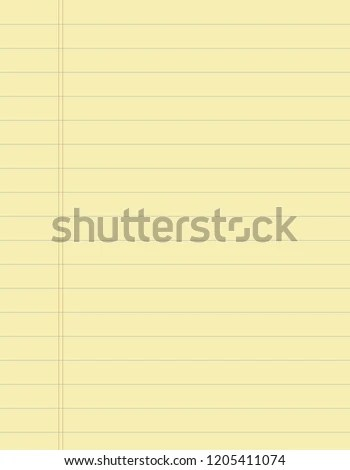 Worn Writingbook Lined Paper Background Coffee Stock Vector