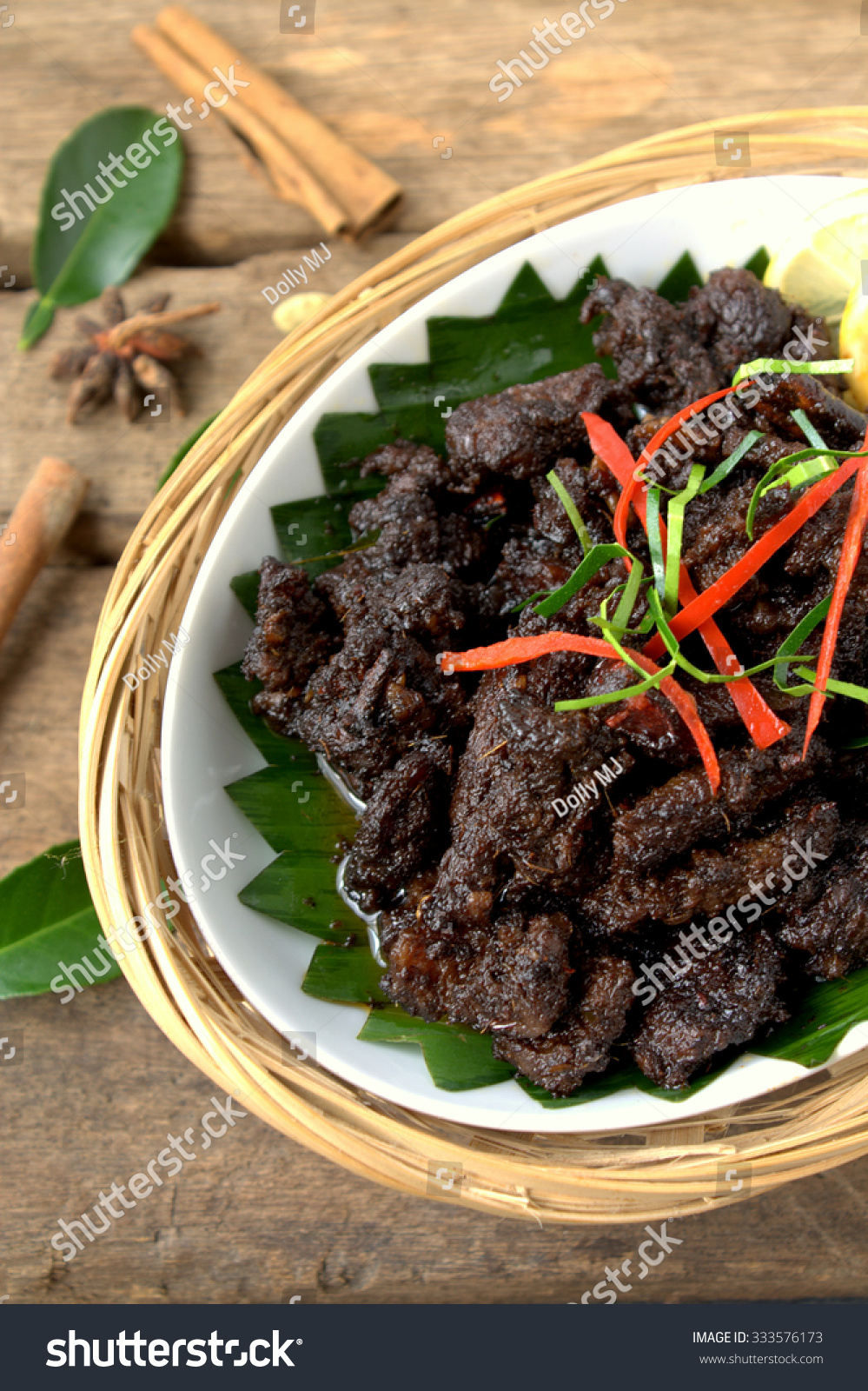 Background Masak Royalty Free Daging Masak Hitam Beef Cooked With 333576173