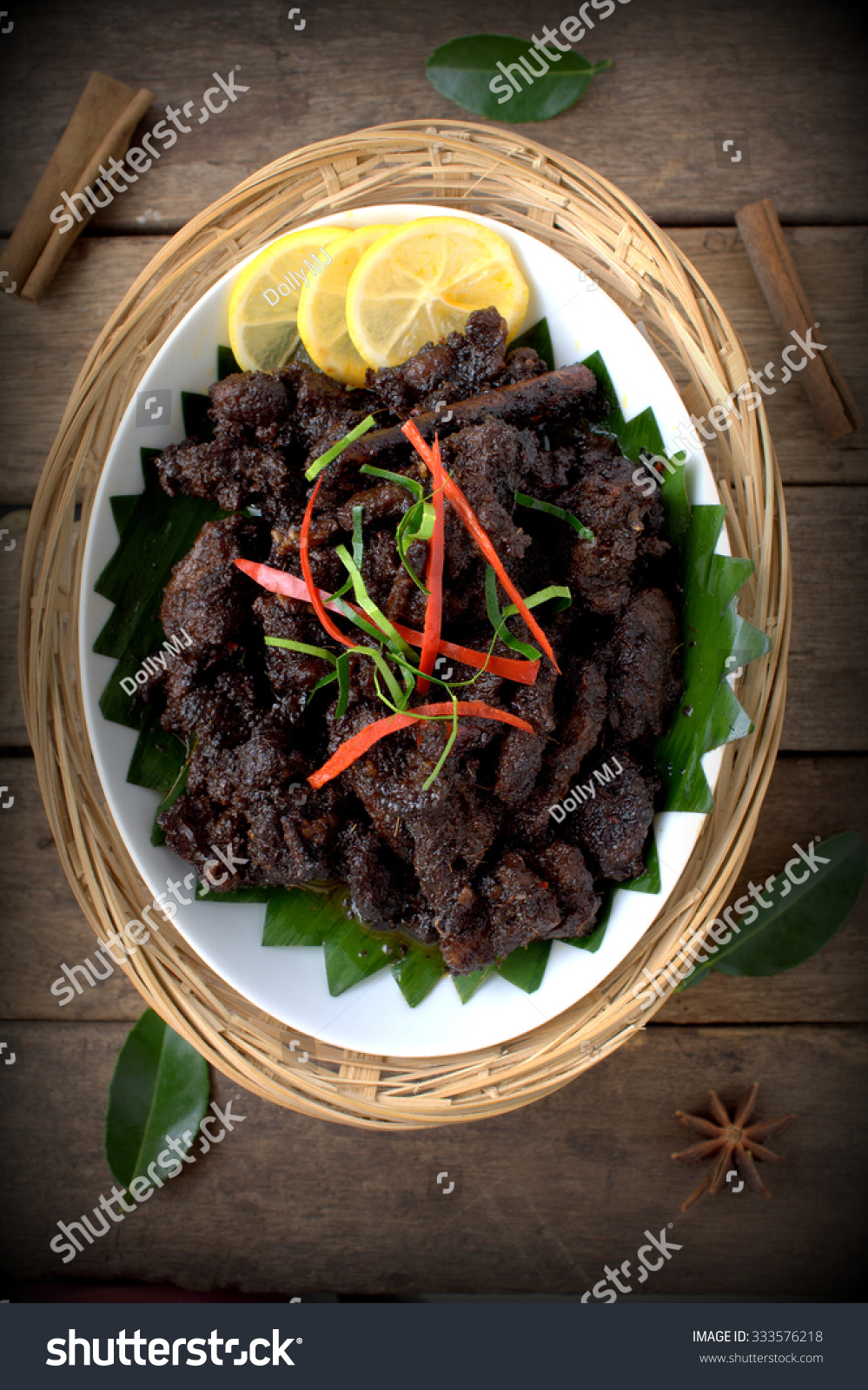 Background Masak Royalty Free Daging Masak Hitam Beef Cooked With 333576218