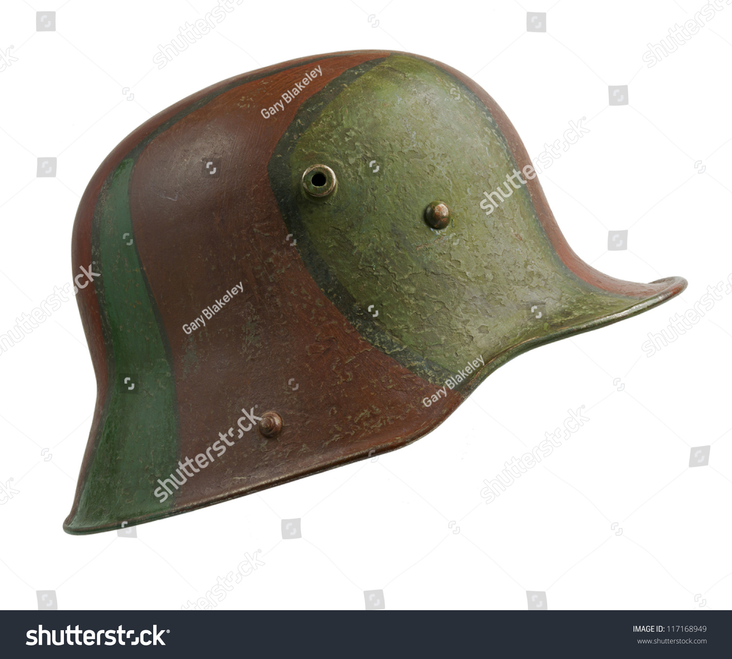Strahlhelm German World War One Stahlhelm M 1916 Stock Photo Edit Now