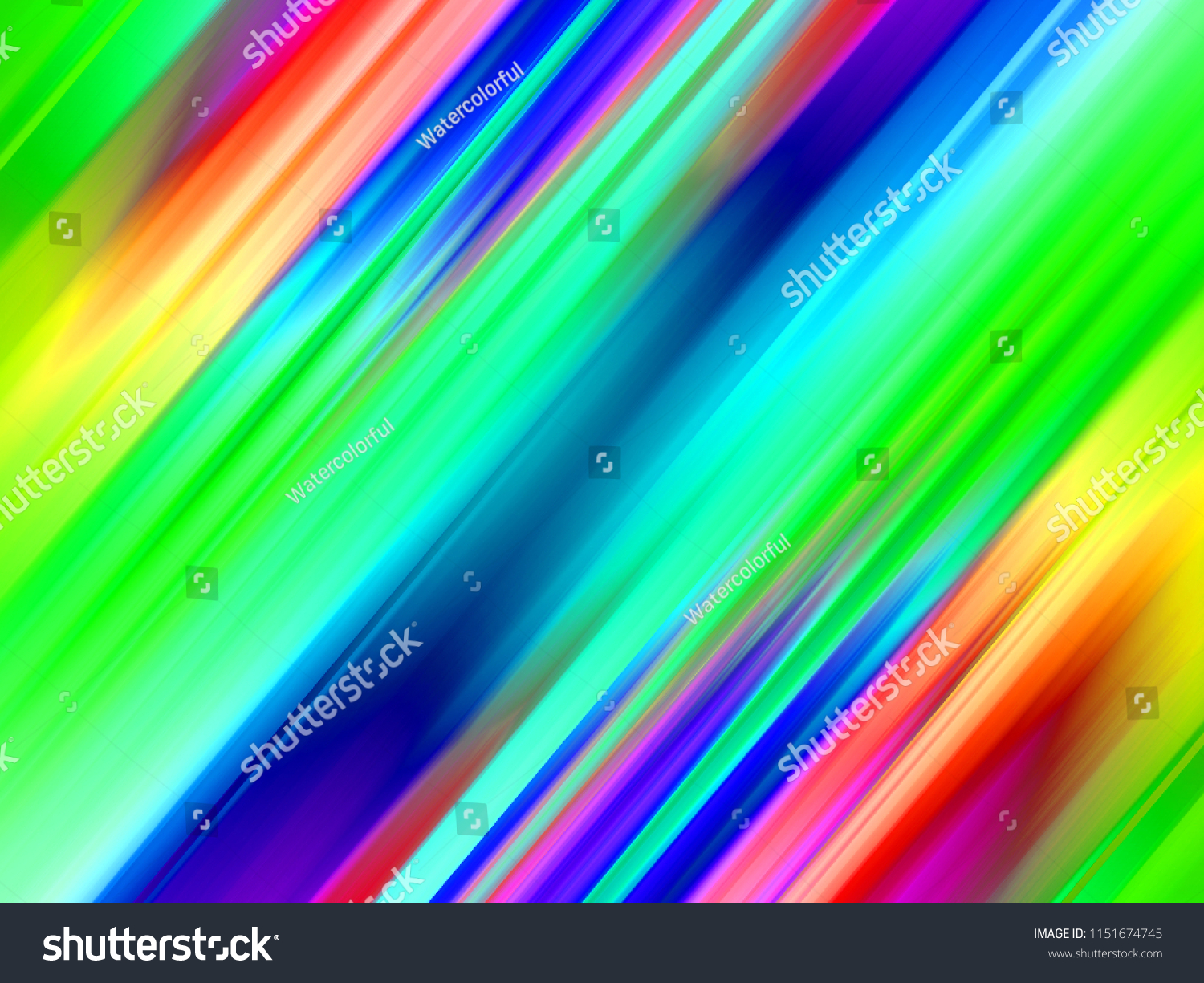 Art Decoration Conception Abstract Vibrant Slanted Lines Pattern Blurred Stock