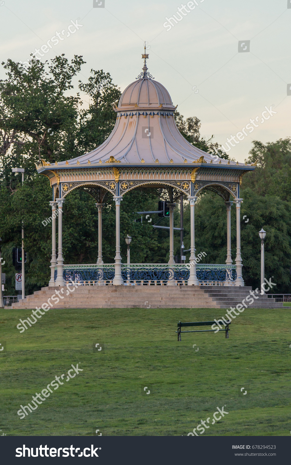 Gazebo Adelaide Adelaide November 2016 Harmonic Case Over Stock Photo Edit Now