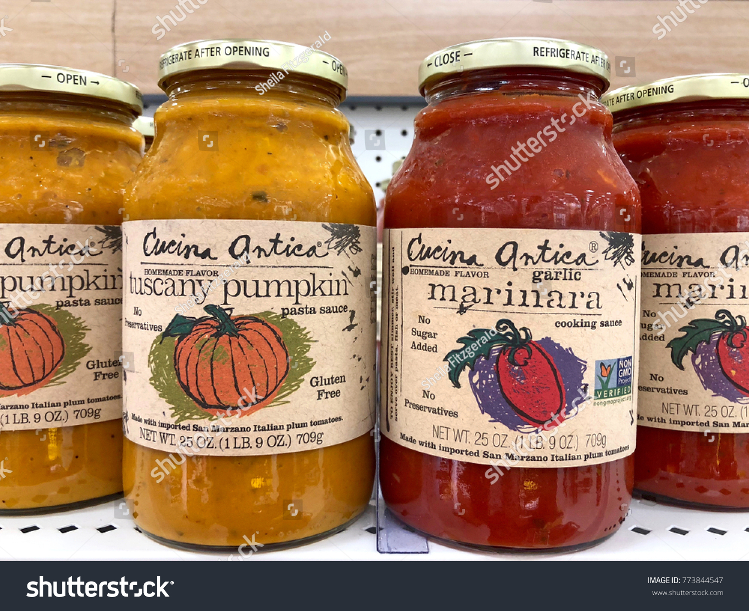 Cucina Antica Sauce Alameda Ca December 08 2017 Grocery Stock Photo Edit Now