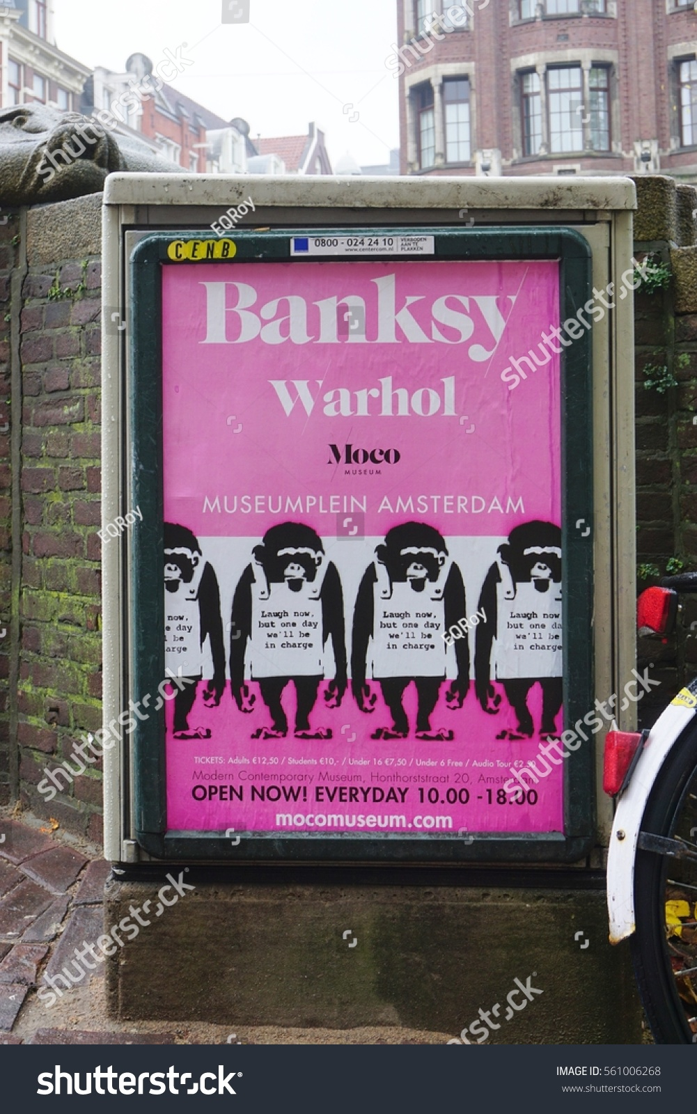 Warhol Amsterdam Amsterdam Netherlands 13 Nov 2016 Moco Stock Photo Edit Now