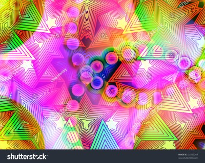 Background Made Out Colourful Shapes Stock Illustration 23569264 - Shutterstock