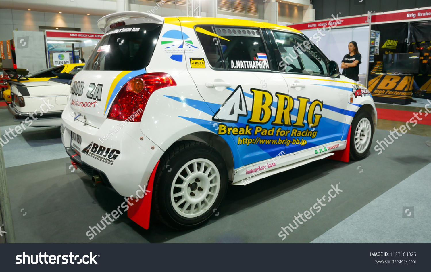 Salon Auto Reims Bangkok July 4 Suzuki Swift Modified Stock Photo Edit Now