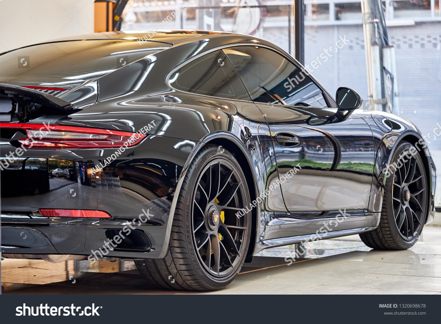 Garage Porsche Strasbourg Bangkok Thailand February 21 2019 Shiny Stock Photo Edit Now