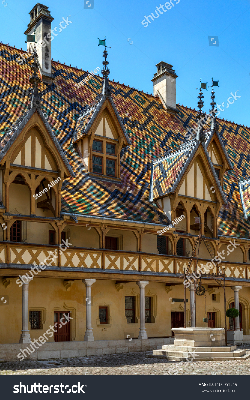 Beaune Hotel Beaune France 060918 Hospices De Beaune Stock Photo Edit Now