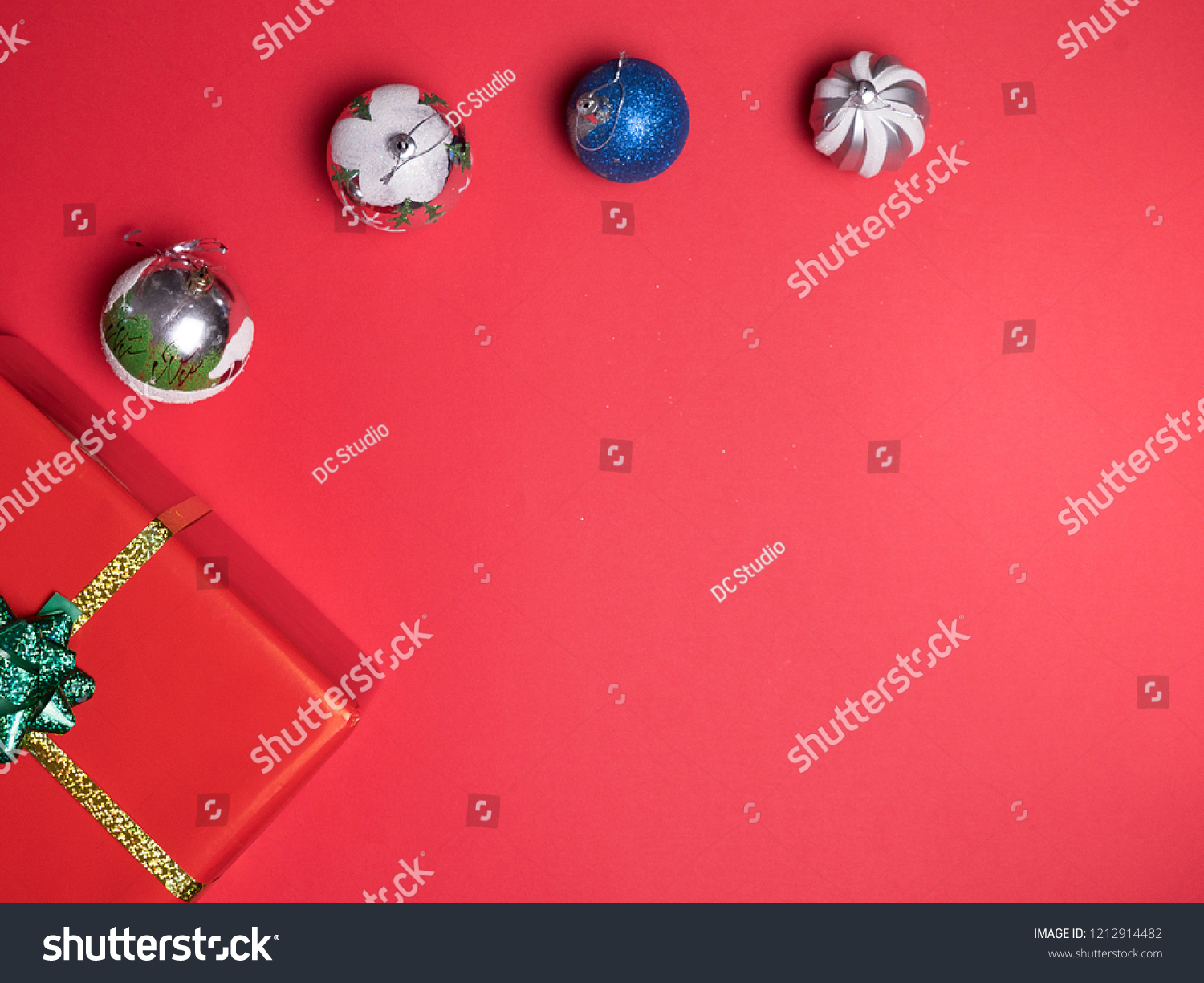 Christmas Background Gif Beautiful Christmas Red Gif Boxe On Stock Photo Edit Now