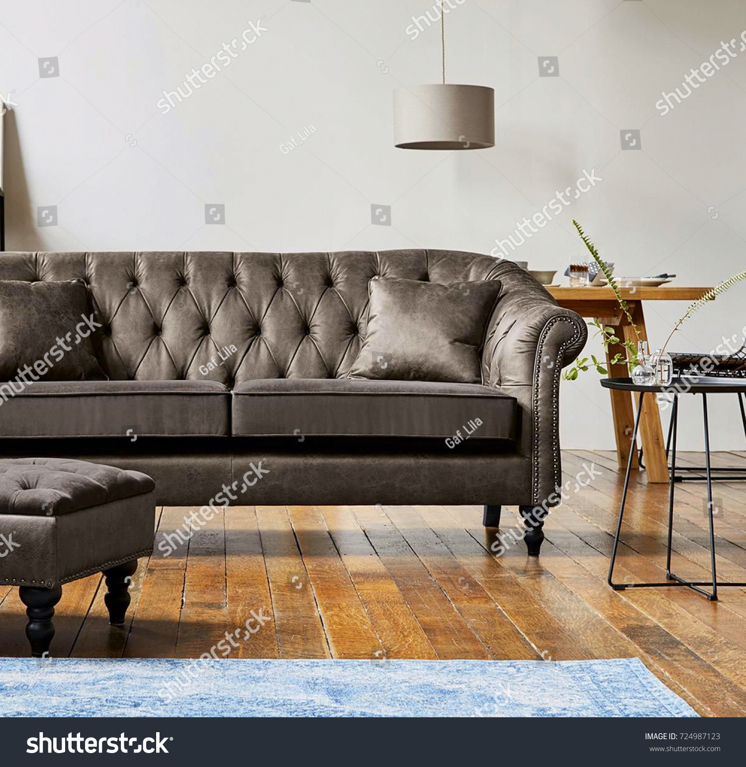 Beautiful Living Room Modern Sofa Stock Photo Edit Now 724987123