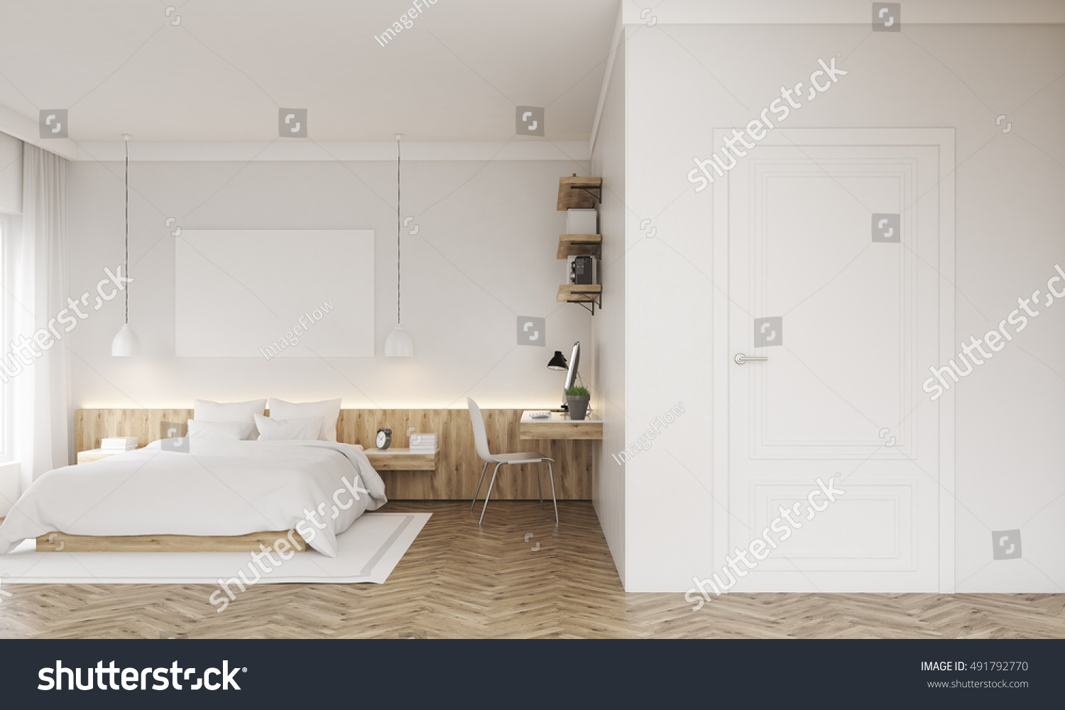 Bad Design Modern Royalty Free Stock Illustration Of Bedroom Poster Above Bad Study