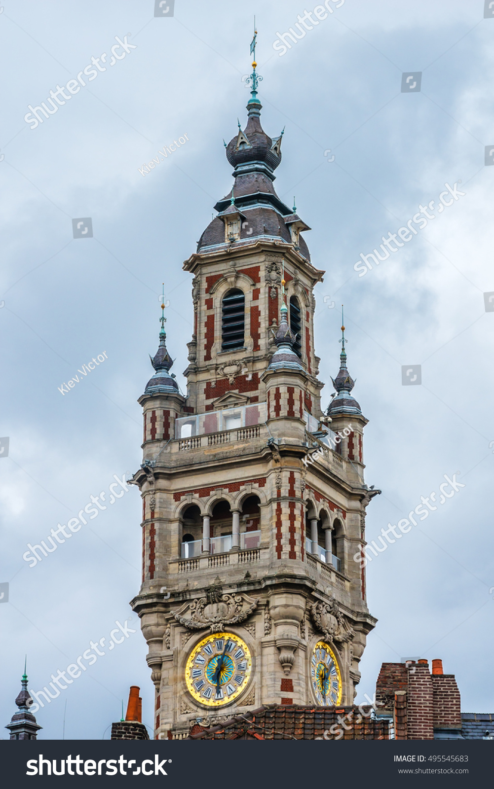 Chambre Des Commerce Et De L Industrie Belfry Industrial Trade Chamber Chambre De Stock Photo Edit Now
