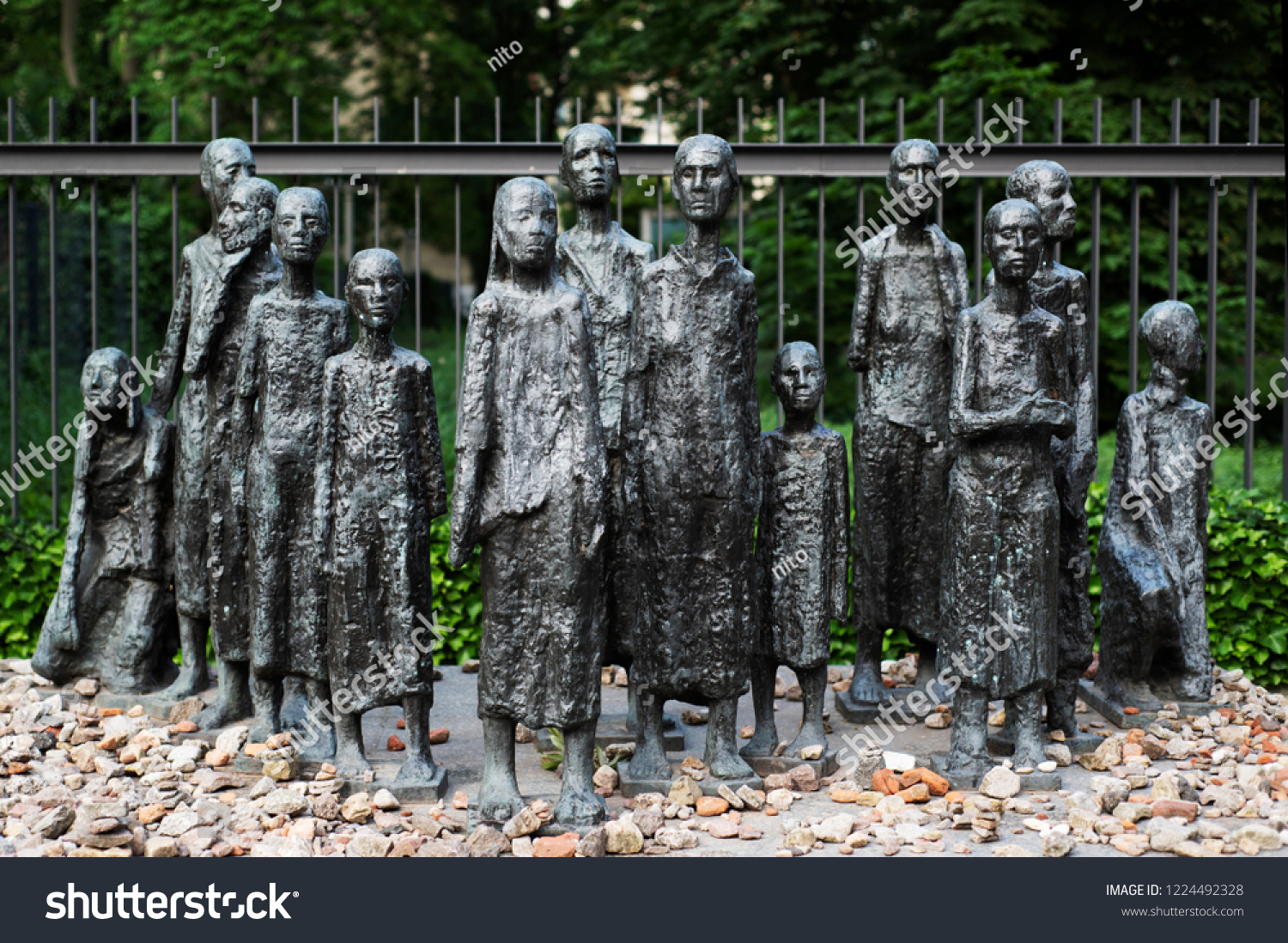 Jewish Cemetery At Grosse Hamburger Strasse In Berlin Germany Berlin Germany May 27 2018 View Stock Photo Edit Now 1224492328
