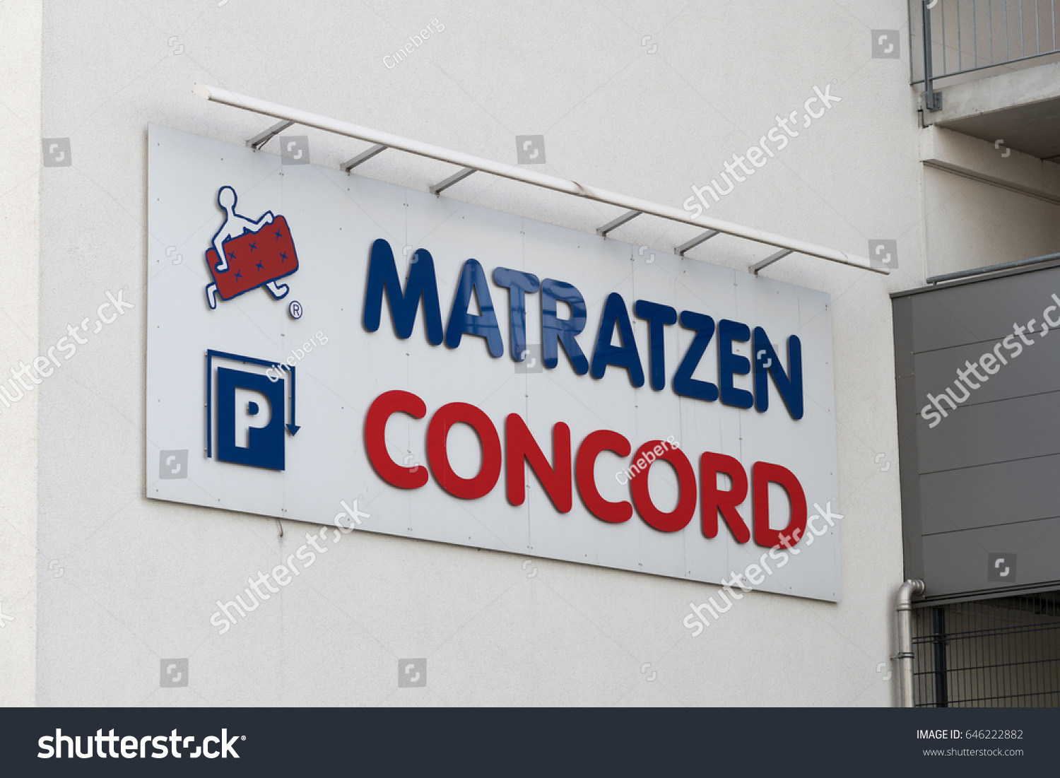 Berlin Matratzen Berlin Germany May 11 2017 Matratzen Stock Photo Edit Now