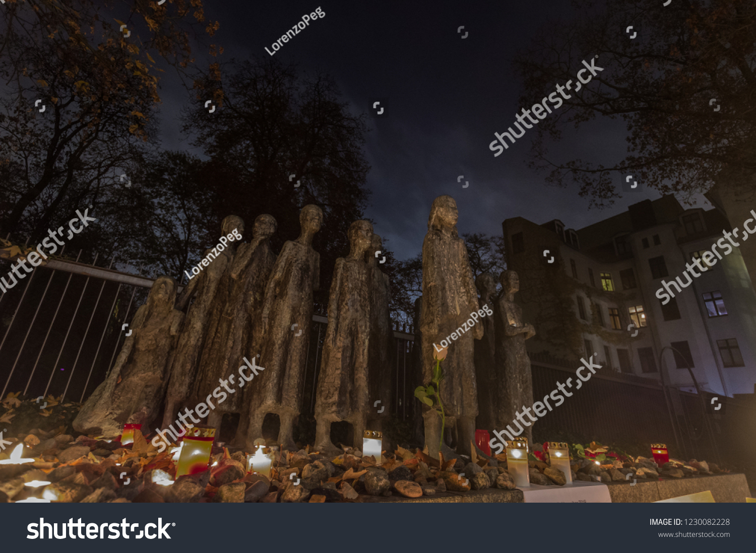 Jewish Cemetery At Grosse Hamburger Strasse In Berlin Germany Berlin Germany 9th November 2018 View Stock Photo Edit Now