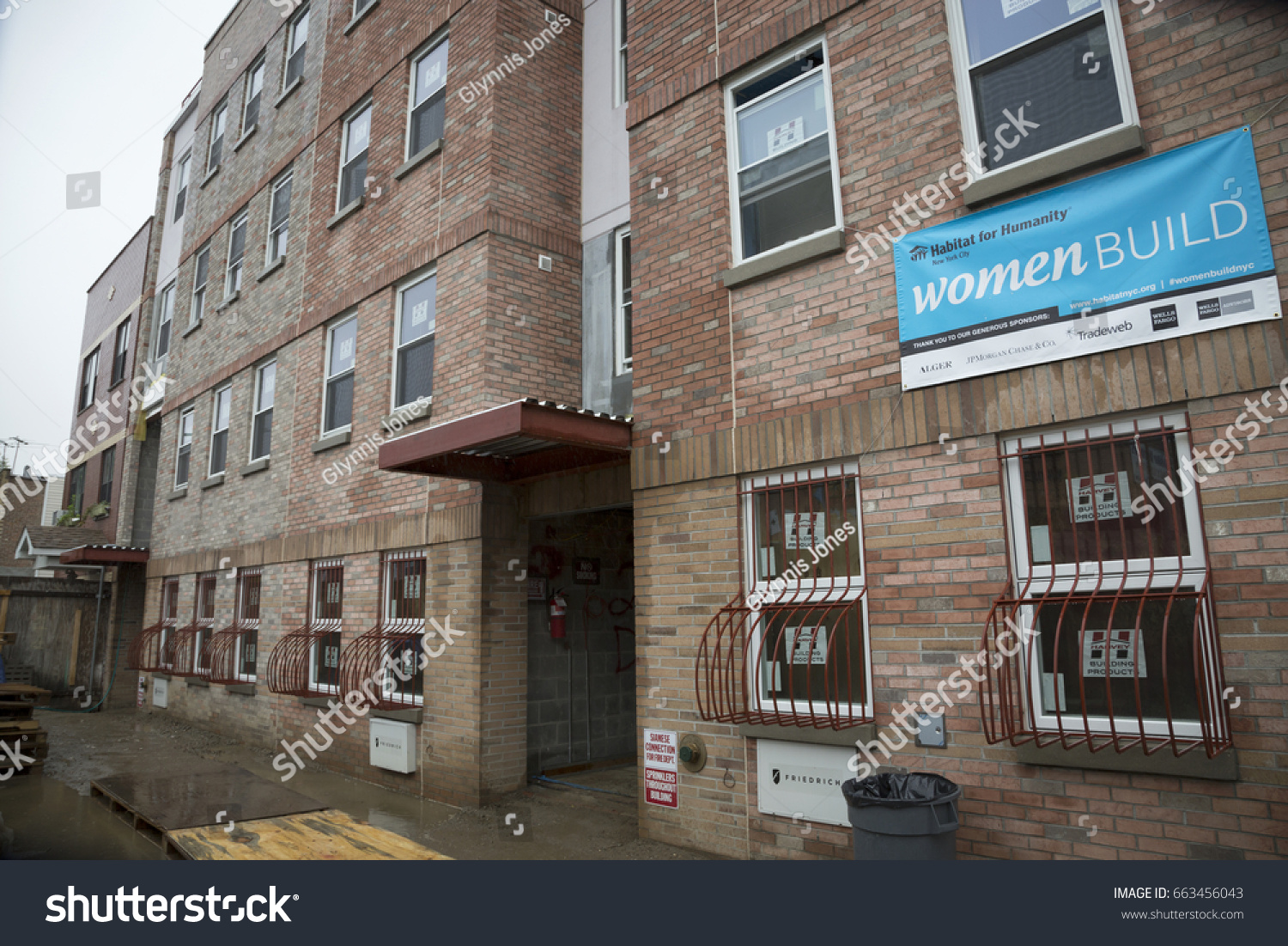 Habitat Outlet Hamburg Brick Exterior Habitat Humanity New York Stock Photo Edit Now