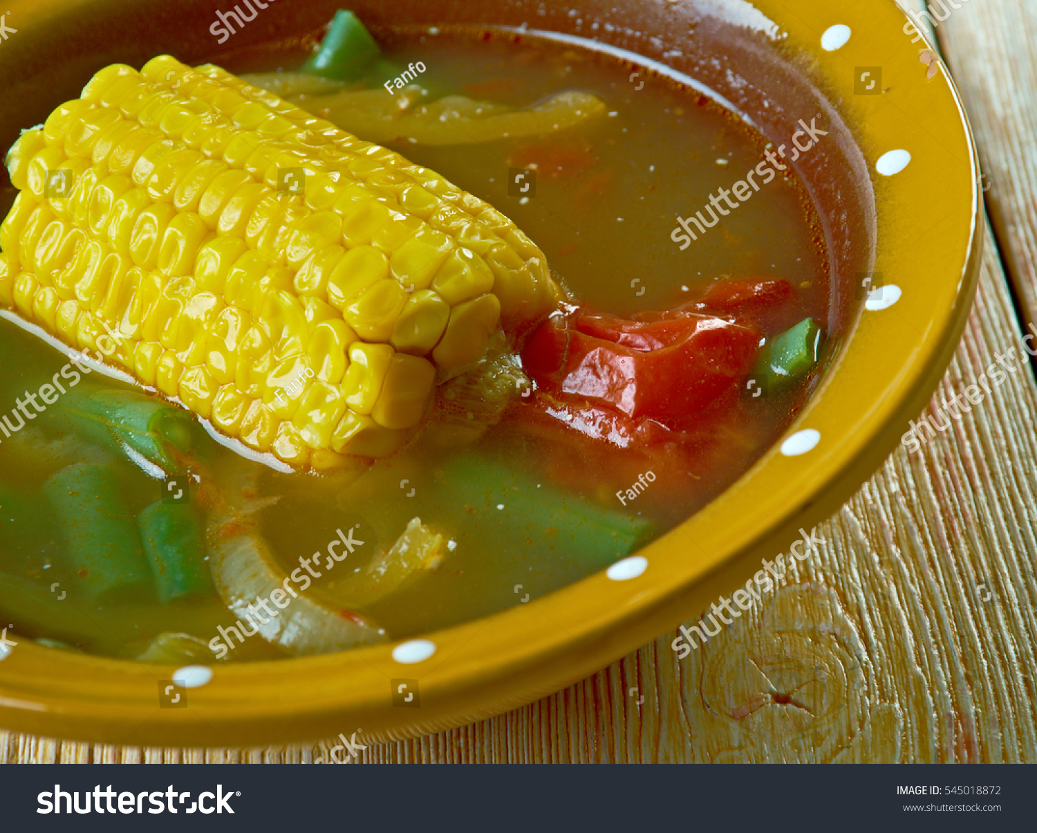 Cara Menghias Sayuran Cara Membuat Sayur Asem Popular Indonesian Stock Photo Edit Now