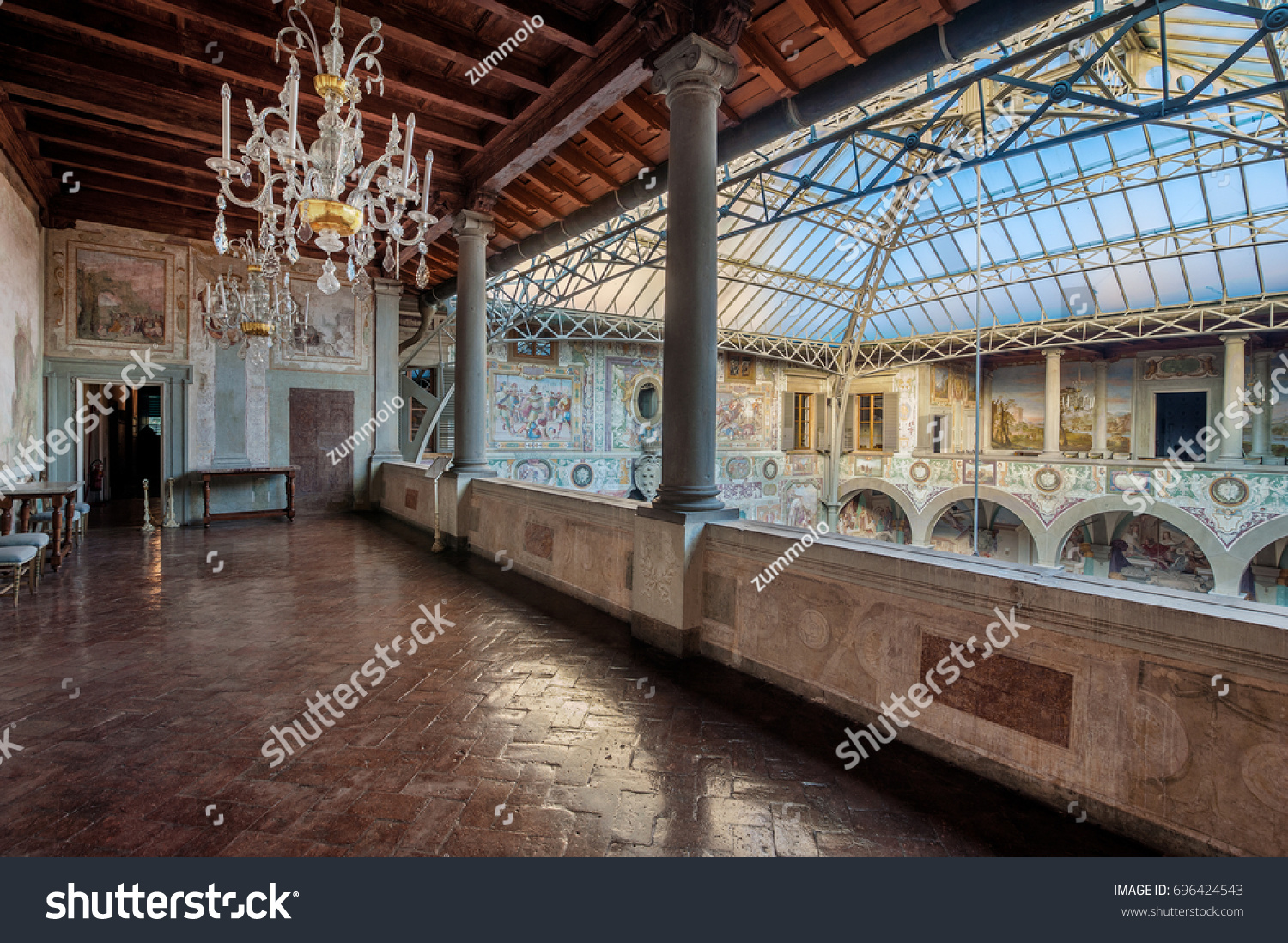 Villa Medici München Castello Firenze Italy March 17 2017 Stock Photo Edit Now