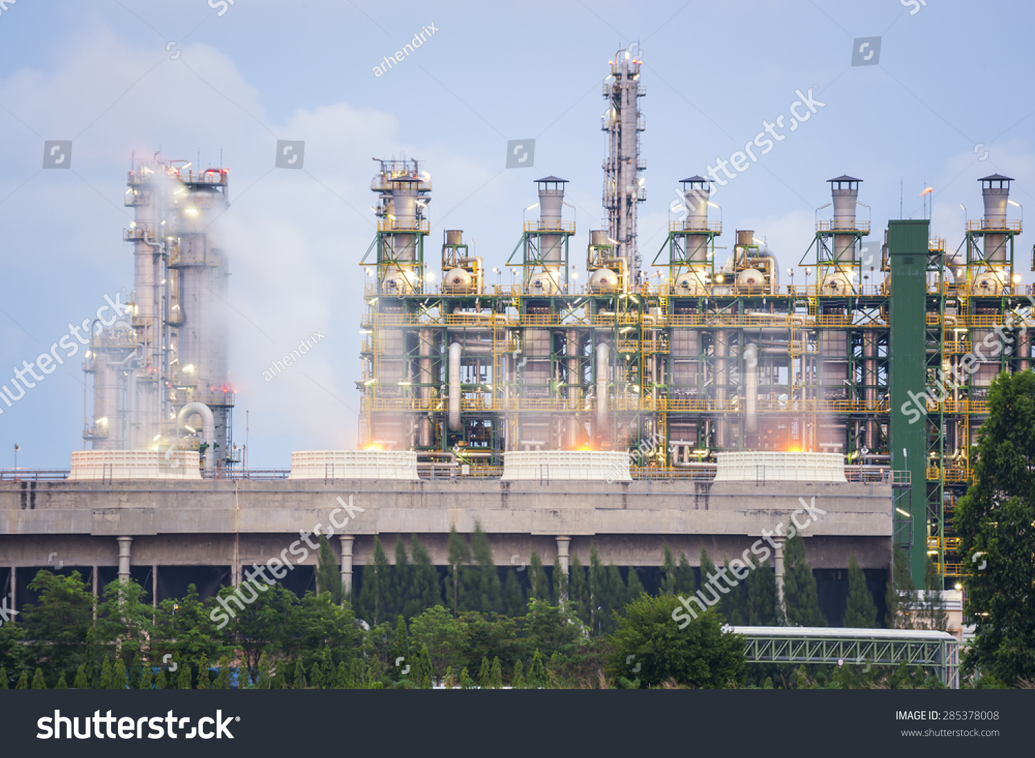 Closein Boiler Closeup Boiler Stream Refinery Plant Stock Photo Edit Now