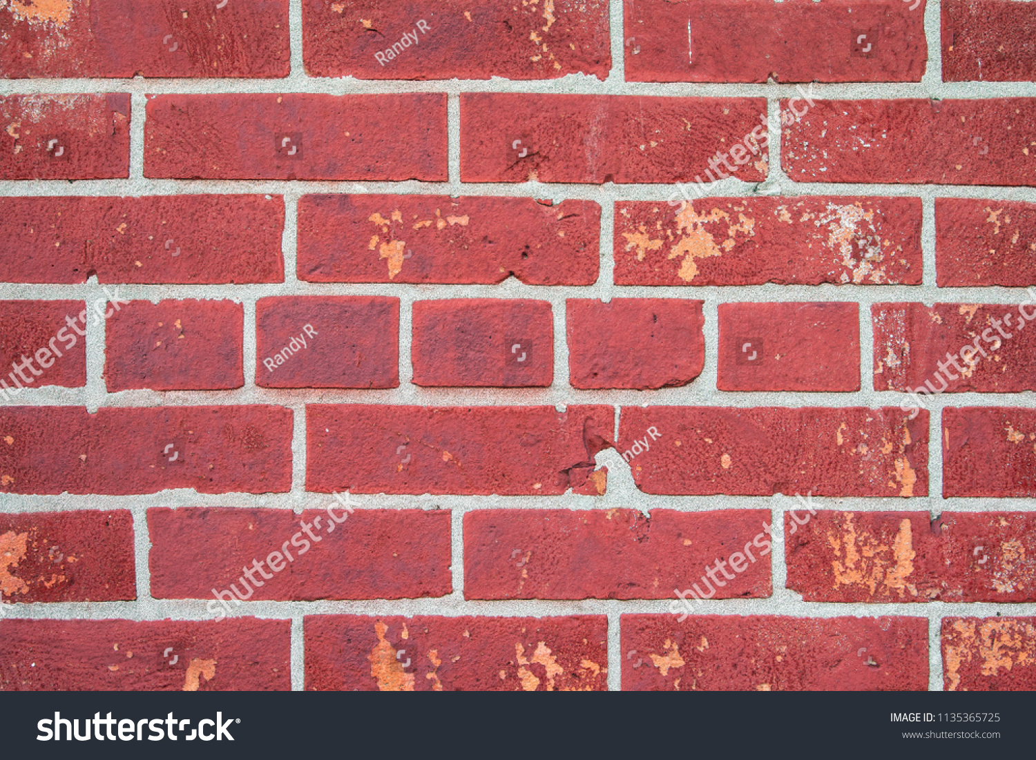 Orange Exterior Paint Close Orange Exterior Brick Wall Peeling Stock Photo Edit Now