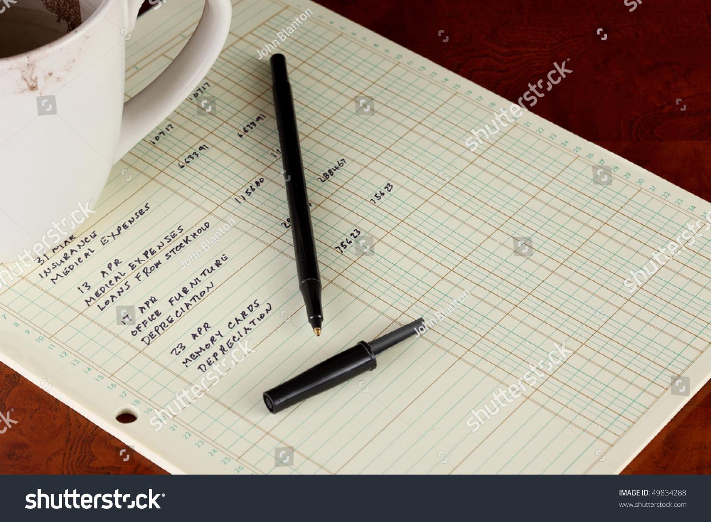 accounting ledger sheet
