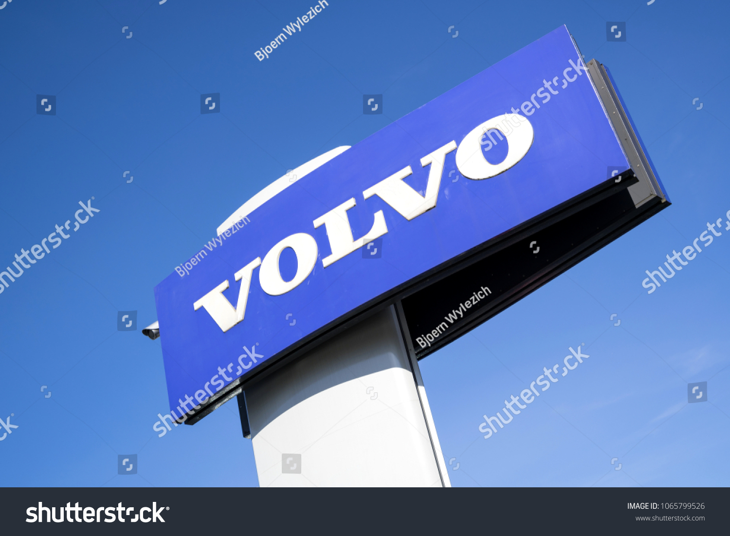 Volvo Dealer Delft Cologne Germany April 6 2018 Volvo Stock Photo Edit Now
