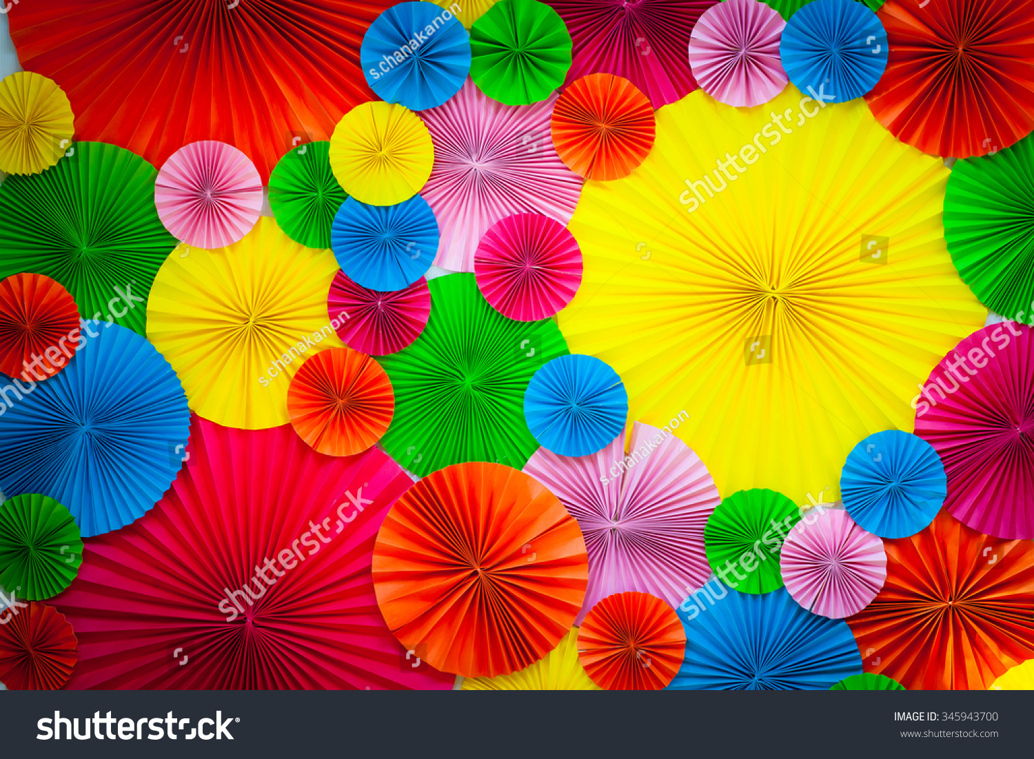 Buntes Papier Colorful Paper Background Stock Photo 345943700 Shutterstock