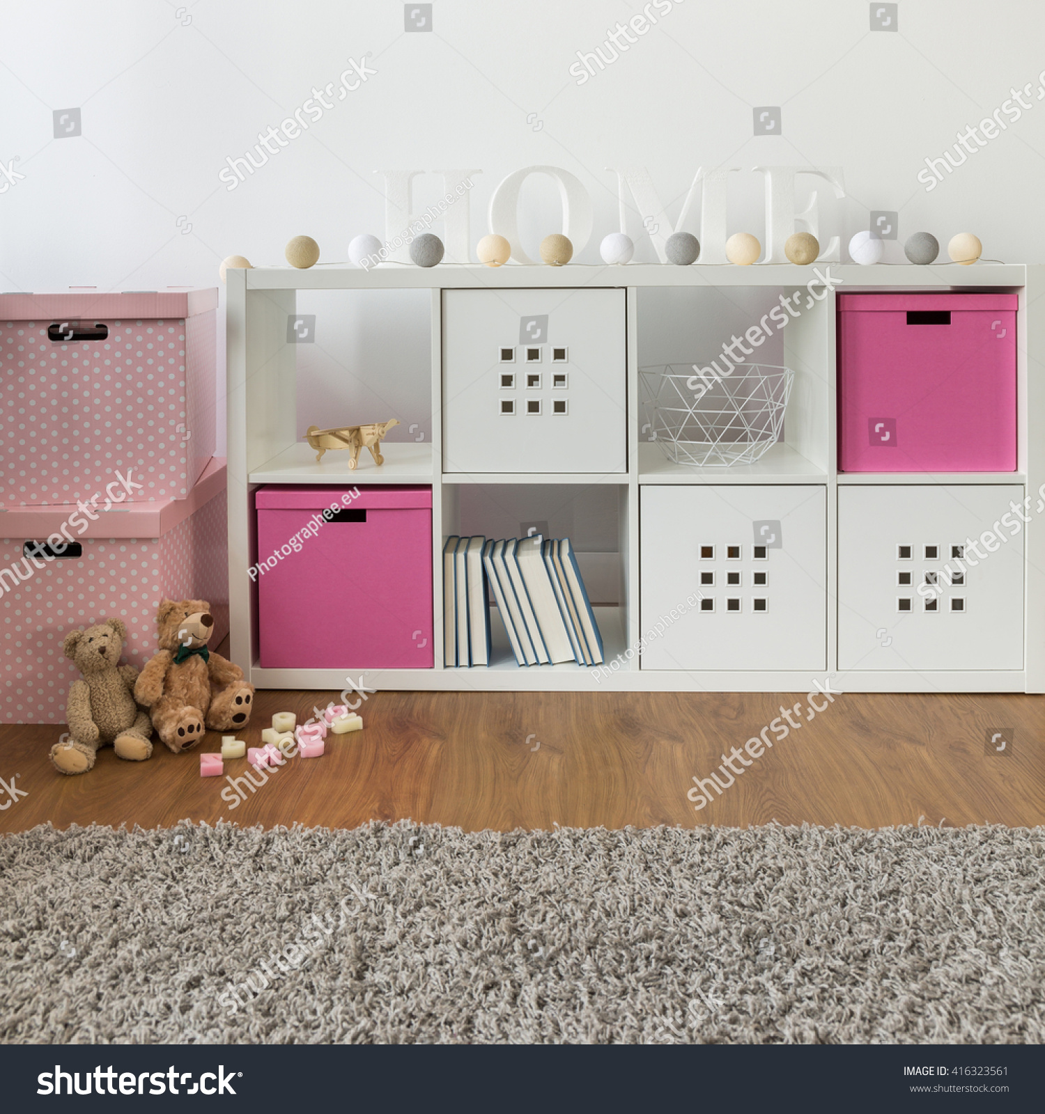 Commode Rose Commode Rose Boxes Childs Room Stock Photo Edit Now 416323561