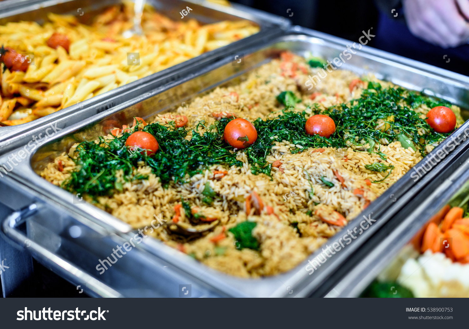 Buffet Cuisine Cuisine Culinary Buffet Dinner Catering Dining Stock Photo Edit