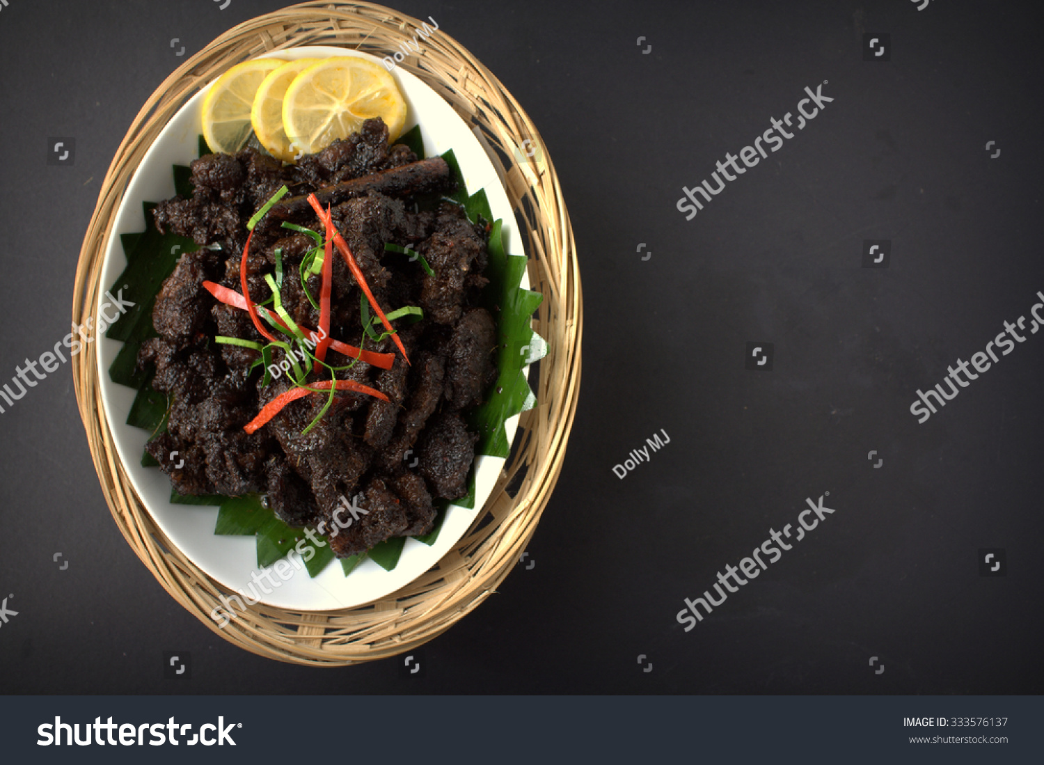 Background Masak Daging Masak Hitam Beef Cooked Soy Stock Photo Edit Now