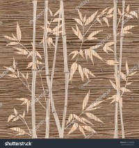 Decorative Bamboo Branches - Bamboo Forest Background ...