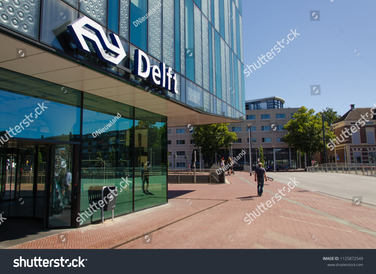 Volvo Dealer Delft Delft Netherlands 02072018 View Station Delft Stock Photo Edit