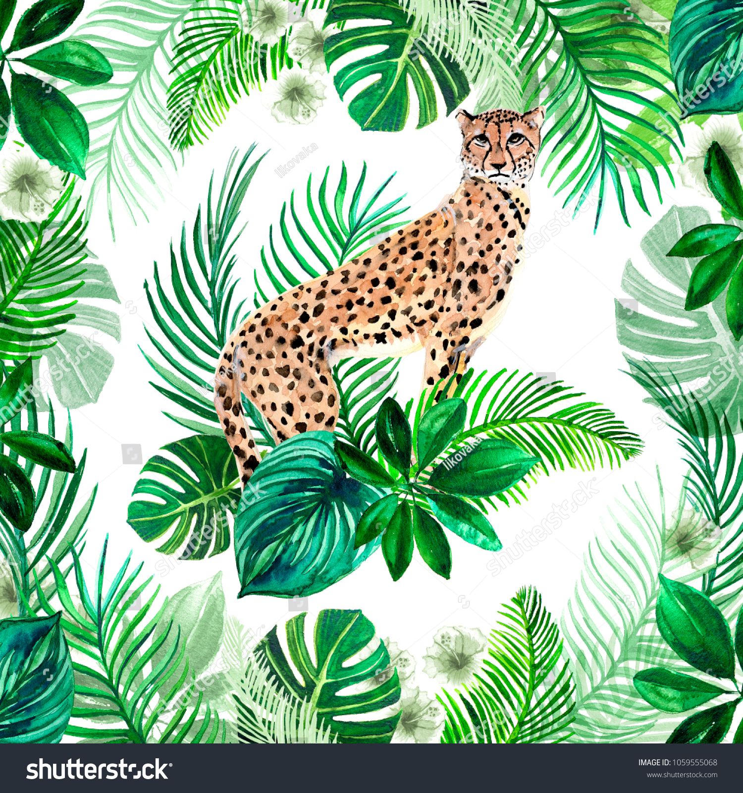 Animal Design Royalty Free Stock Illustration Of Design Texture Watercolor
