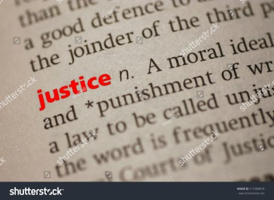 Dictionary Definition Justice Closeup View Paper Stock Photo 117288976 - Shutterstock