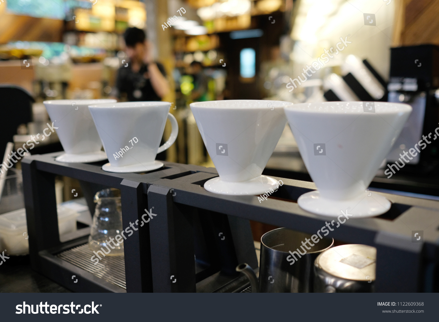 Coffee Station Drip Coffee Station Drip Brewing Filtered Stock Photo Edit Now