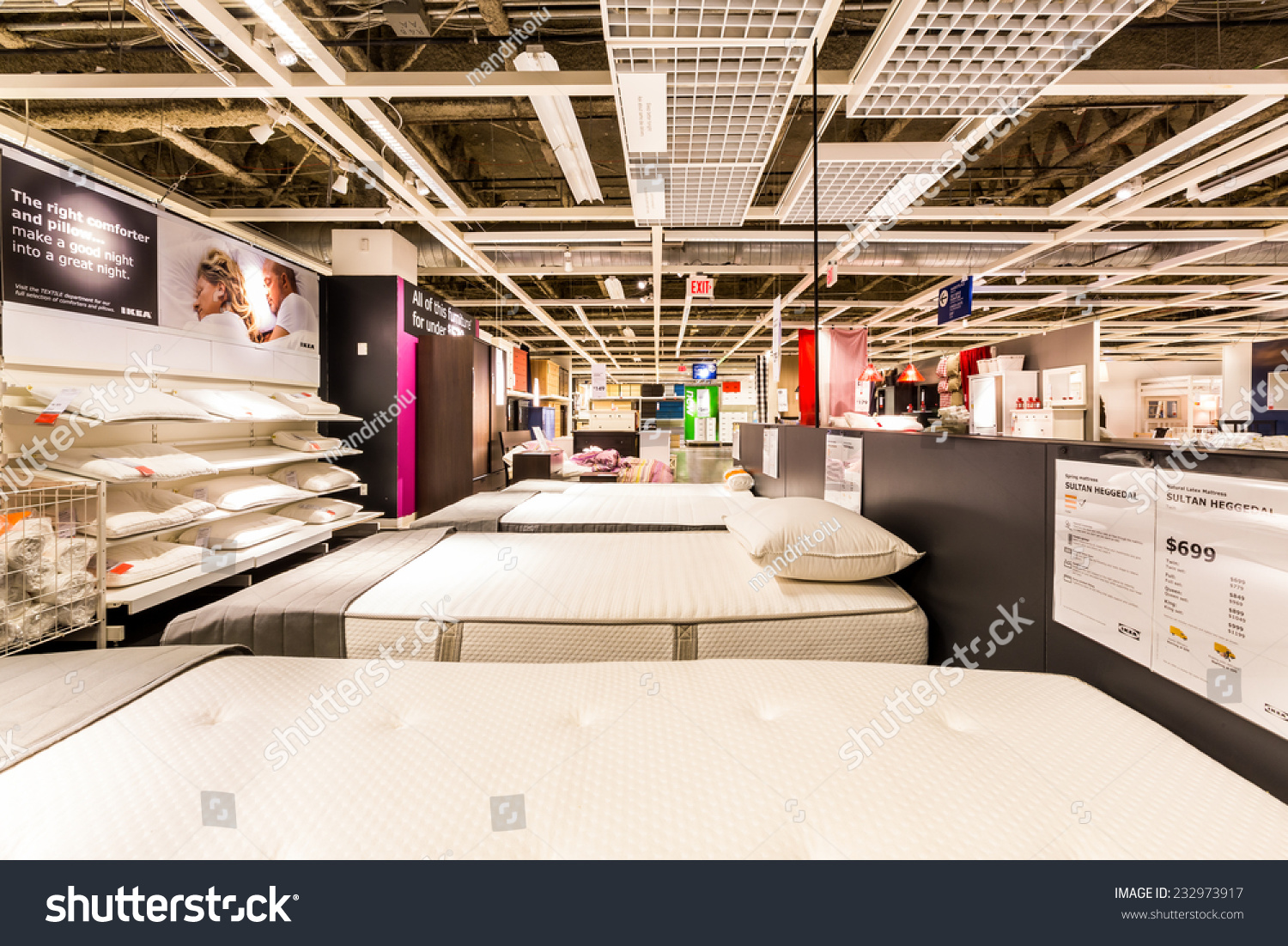 Ikea Elizabeth Hours Elizabeth Nj November 23 2014 Bedroom Stock Photo Edit Now